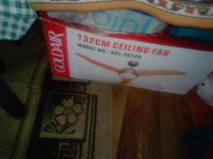 Brand new remote control ceiling fan for sale