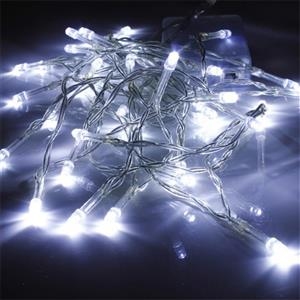 LED Decorative Fairy String Lights Waterproof Battery Operated in Cool White. Brand New.