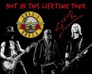 Taxi or shuttle services to Guns and Roses concert