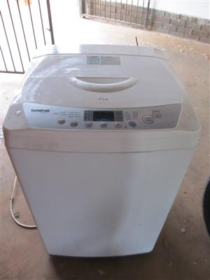 LG Top loader washing machine