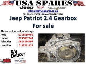 JEEP PATRIOT 2.4 USED GEARBOX FOR SALE
