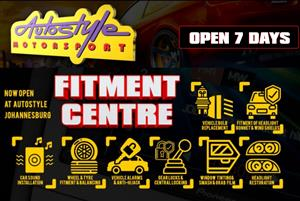 Fitment and supply of Car Audio, tyres, mag wheels, alarm systems, gearlocks, globes and accessories. 7 days a week, We beat any price