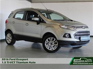2016 Ford EcoSport 1.5 Titanium auto
