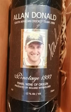 Cricket Protea Memorabilia,  Signed by the Cricket Legend Allan Donald