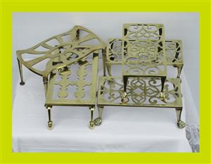 Victorian Brass Trivits - 1 Available in Stock(SKU 207 208 209 210 215)