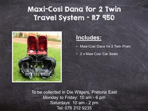 Maxi-Cosi Dana for 2 Twin Travel System