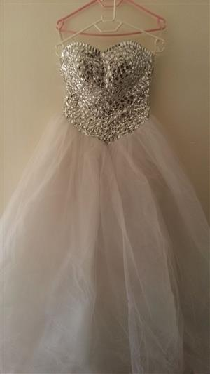 Wedding Dress with Hoop For Sale Ball Gown Sweet Heart Shape Dress