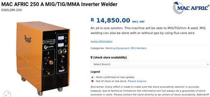 Welding machine 3 in 1 to sale or swop
