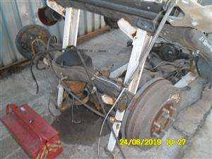 Ford everest diff