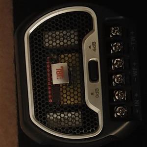 JBL car sound system