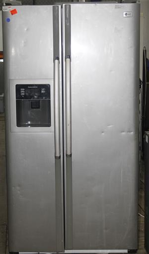 LG double door fridge with water dispenser S036624A #Rosettenvillepawnshop