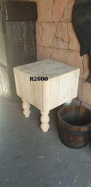Heavy Duty Butchers Block (600x600x760)