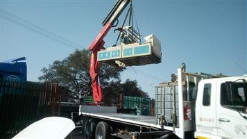 machine lifting rigging and transport