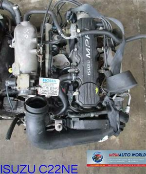 Imported ISUZU/CHEV 2.2L OMEGA, C22NE ENGINE. Complete second hand used engine