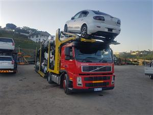 Volvo FM12 For Sale 10 Car Trailer Included