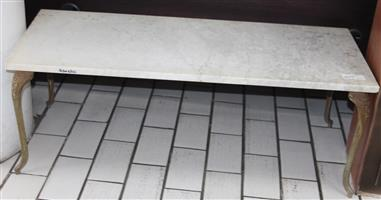 Marble table S030631C #Rosettenvillepawnshop