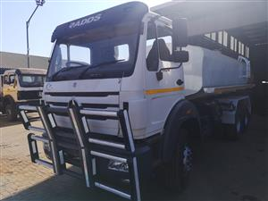 POWERSTAR 1729 WATER TANKERS FOR SALE