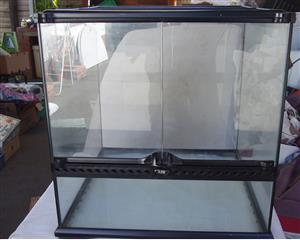 Exo Terra Allglass Terrarium- excellent condition