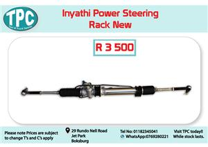 Inyathi Power Steering Rack New for Sale at TPC