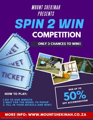 Mount Shekinah Spin The Wheel Competition