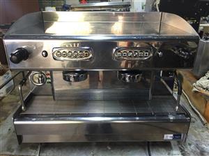 Cime 2 group coffee machine