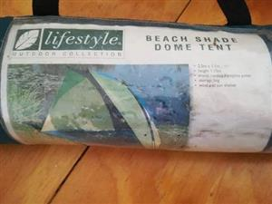 beach shade dome tent