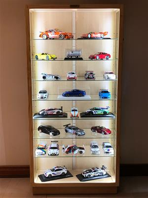 """Character and Models """"Display /Show Cabinets - Unrestricted view, Best Prices, Dust Proof !"""