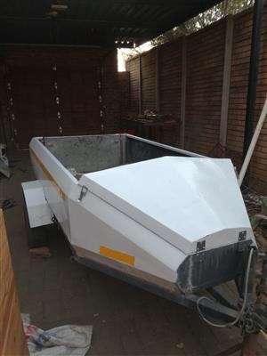 self built trailer (not registered)