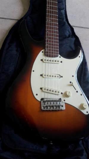 Electric Strat Guitar + soft gig case,  Cort g200 series