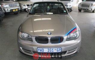2010 BMW 1 Series 125i convertible auto
