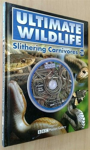 Ultimate Wildlife Slithering Carnivores with DVD.