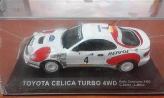 Toyota Celica Turbo 4wd racing car