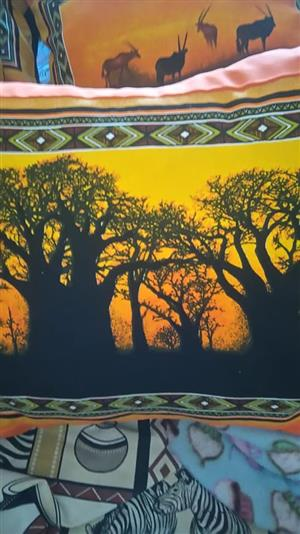 African themed table cloth for sale