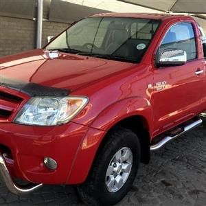 2007 Toyota Hilux single cab HILUX 2.7 VVTi RB SRX P/U S/C
