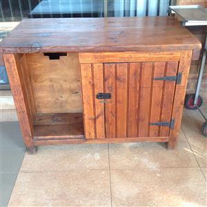 Orgegon pine work bench