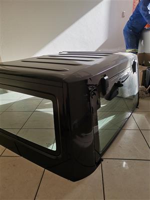 Jeep wrangler hard top and doors