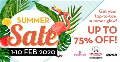 Killarney Mall Summer Sidewalk Sale