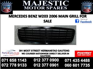 Mercedes benz w203 main grill for sale