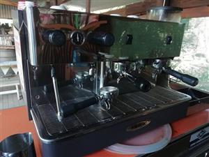 Monroc espresso and Expobar grinder