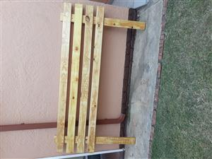 Headboard for double bed - Pine