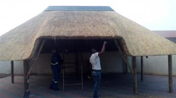 Lapas and swimming pools, thatched roofs, grasdakke, lapa in gauteng