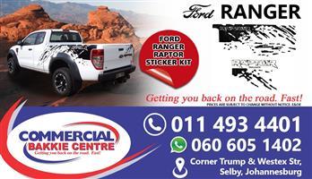 ford ranger raptor sticker kit