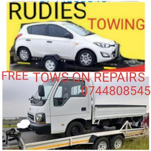 FREE TOWING SERVICES ON CAR REPAIRS