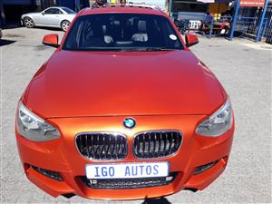 2013 BMW 1 Series 116i 3 door M Sport auto