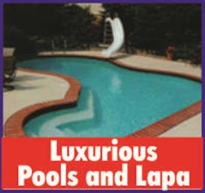 Luxurious Pools and Thatch
