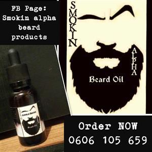 Smokin Alpha Beard oil