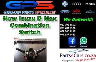 New Isuzu D Max Combination Switch for Sale