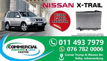 NISSAN X-TRAIL 2007 RADIATORS