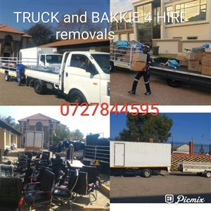 Truck and bakkie removal services
