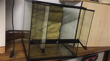 2 Door Glass Tank